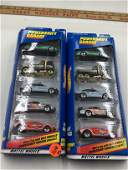 2 sets 1999 Hot Wheels 25368 Power Shift Garage