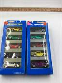 Two sets of the 1996 Hot Wheels Super Show Cars