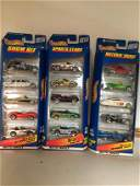 Set of 3 Hot Wheels Motorion Show Cars 5 Packs