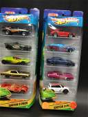 Two 5 car gift packs from Hot Wheels Easter Time