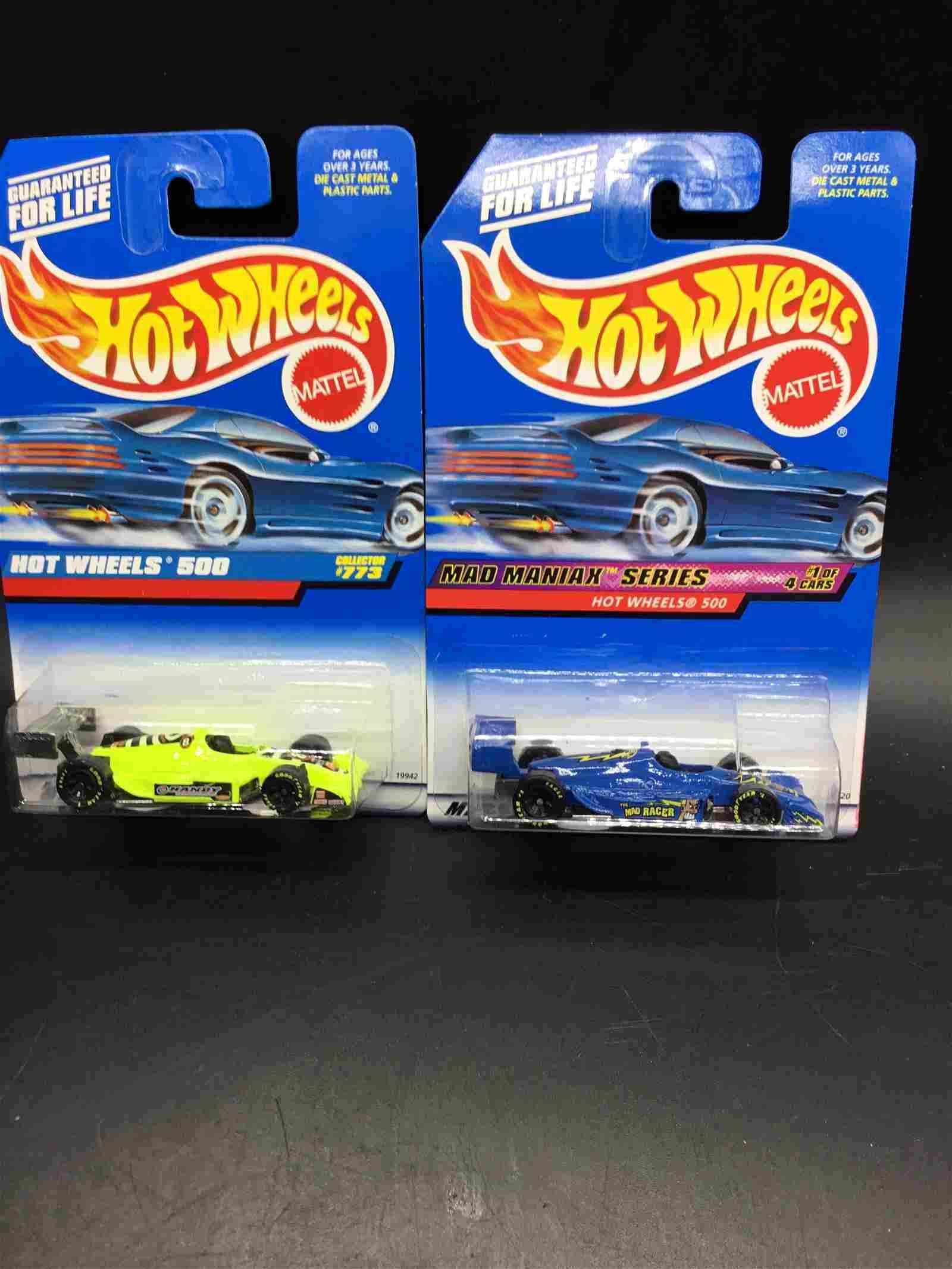 2 car set of Hot Wheels 500