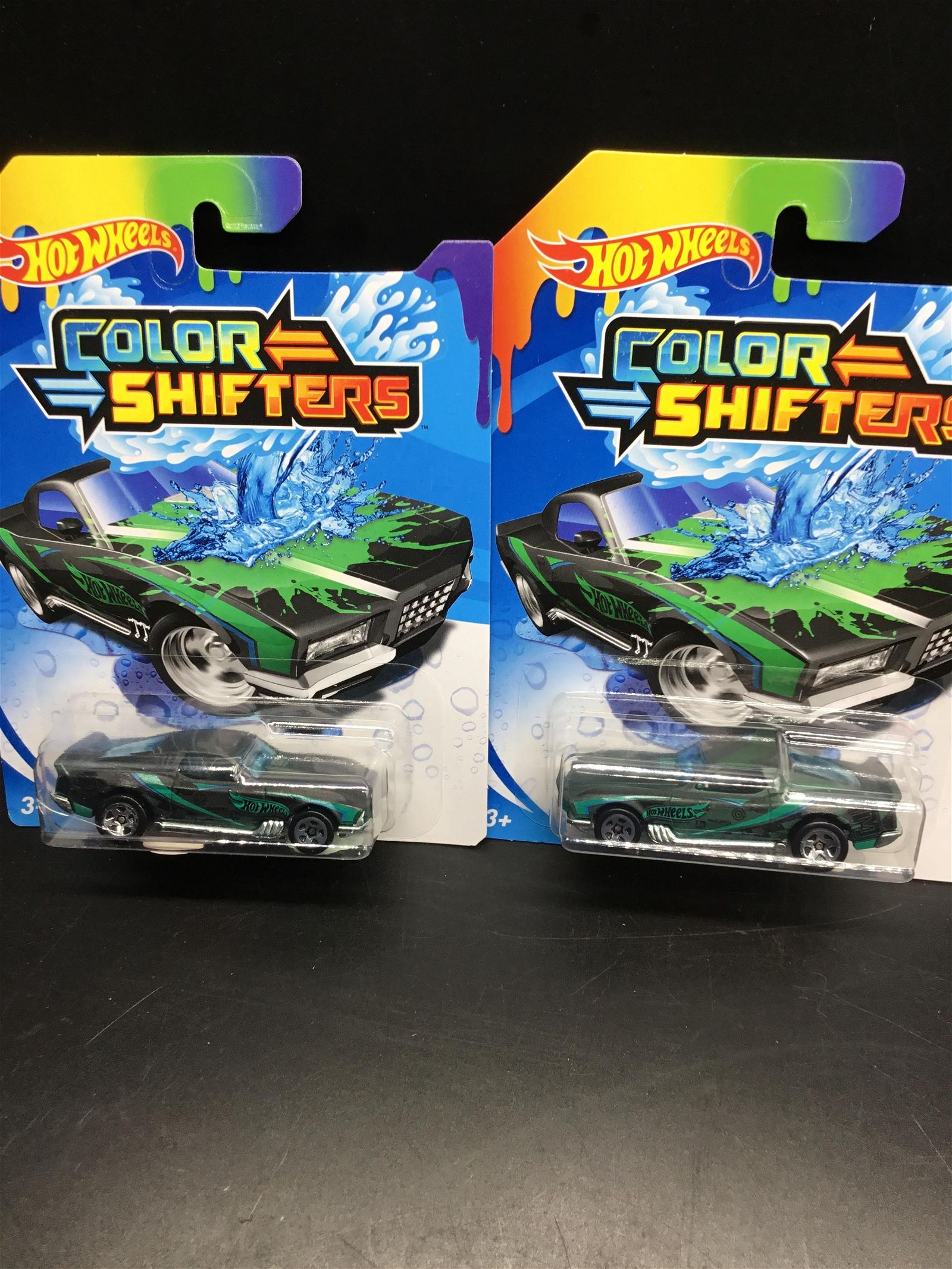 2 car set 2019 Hot Wheels Error Coming and Going
