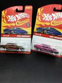 Set of two  #J2766  Hot Wheels Ford Thunder Bolt