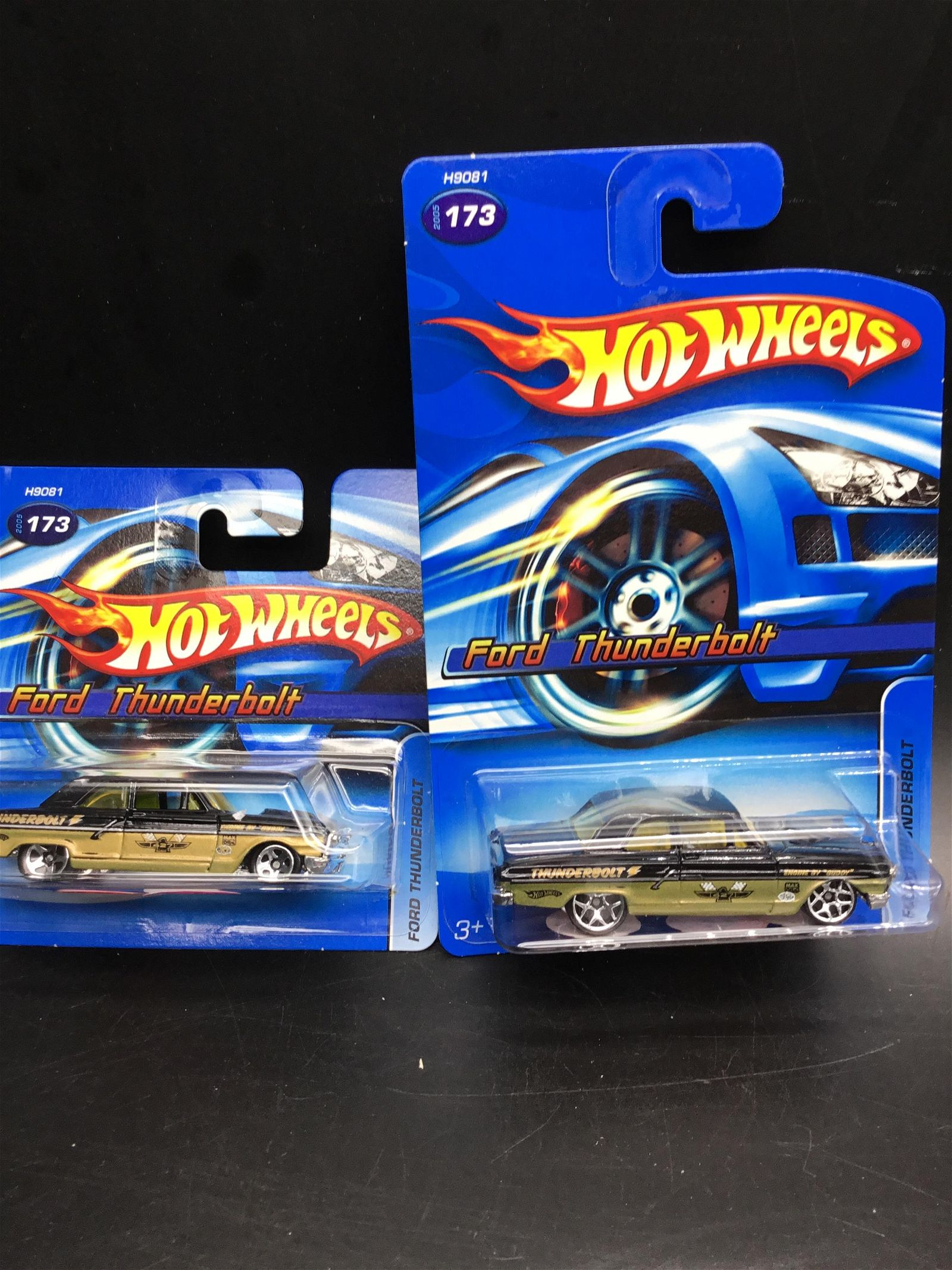 Set of 2 of #173 Ford Thunderbolt