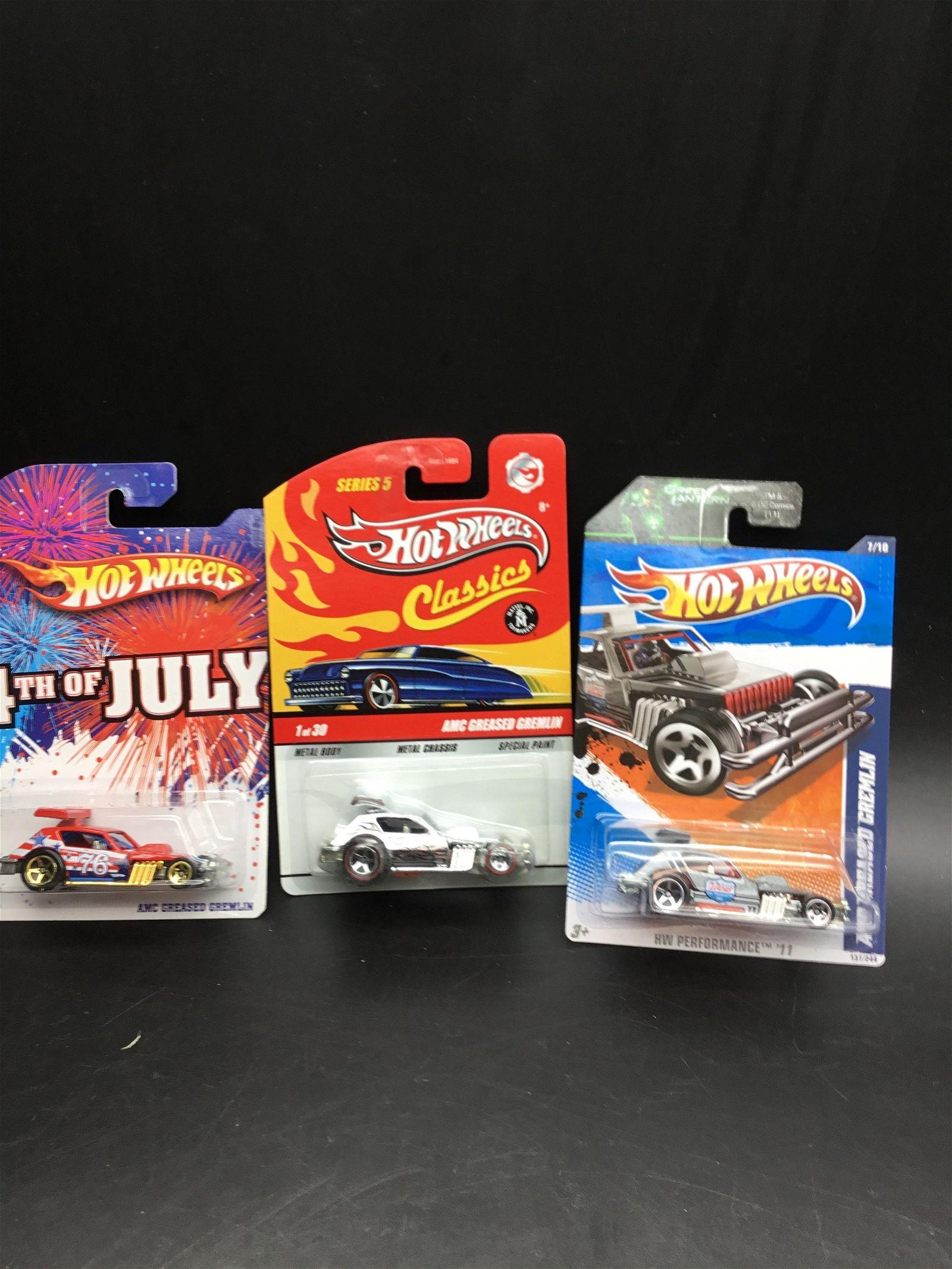 Set of 3 Hot Wheels AMC