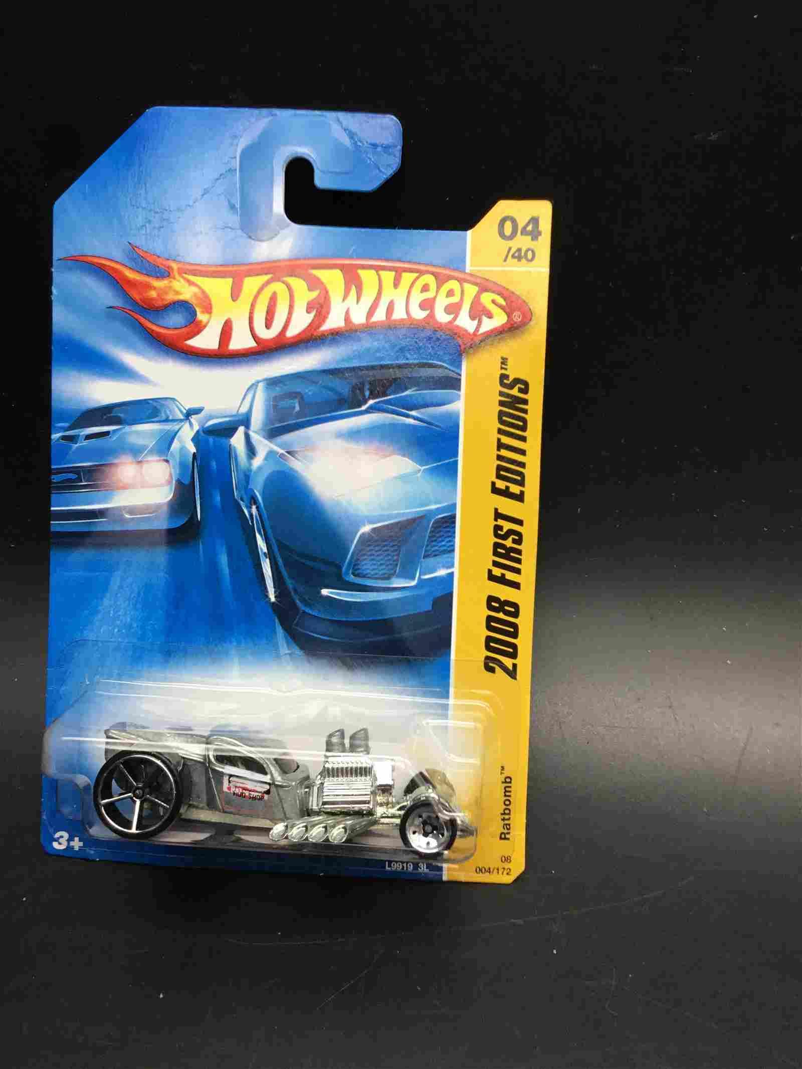 #004 is a 2008 Hot Wheel Rat Bombs