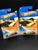 Set of two 73 Hot Wheels 2011 F1 racer