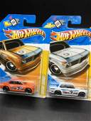 Set of two 2012 Hot Wheels 21 BMW