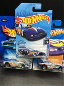 Set of 3 Hot Wheels Mustang Funny Cars