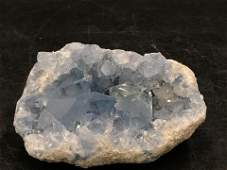 Celestite, Rock, Crystal, Natural, Collectible,