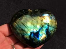 Rock Crystal Natural Collectible Carving Heart
