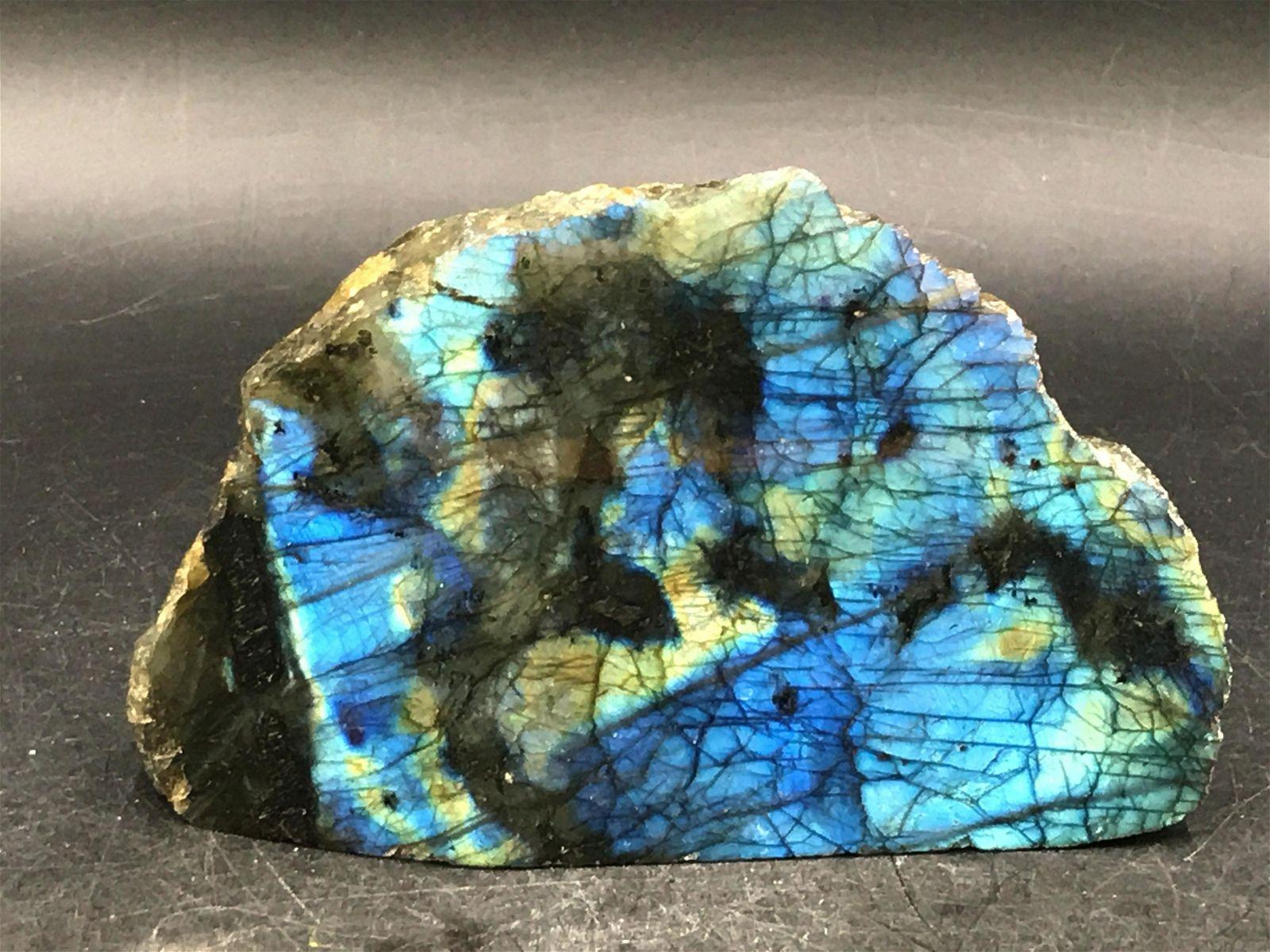 Labradorite, Rock, Crystal, Natural, Decor, Collectible
