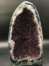 Amethyst, Geode, Rock, Crystal, Natural, Collectible,
