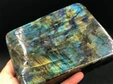 Rock Crystal Natural Decor Collectible Labradorite