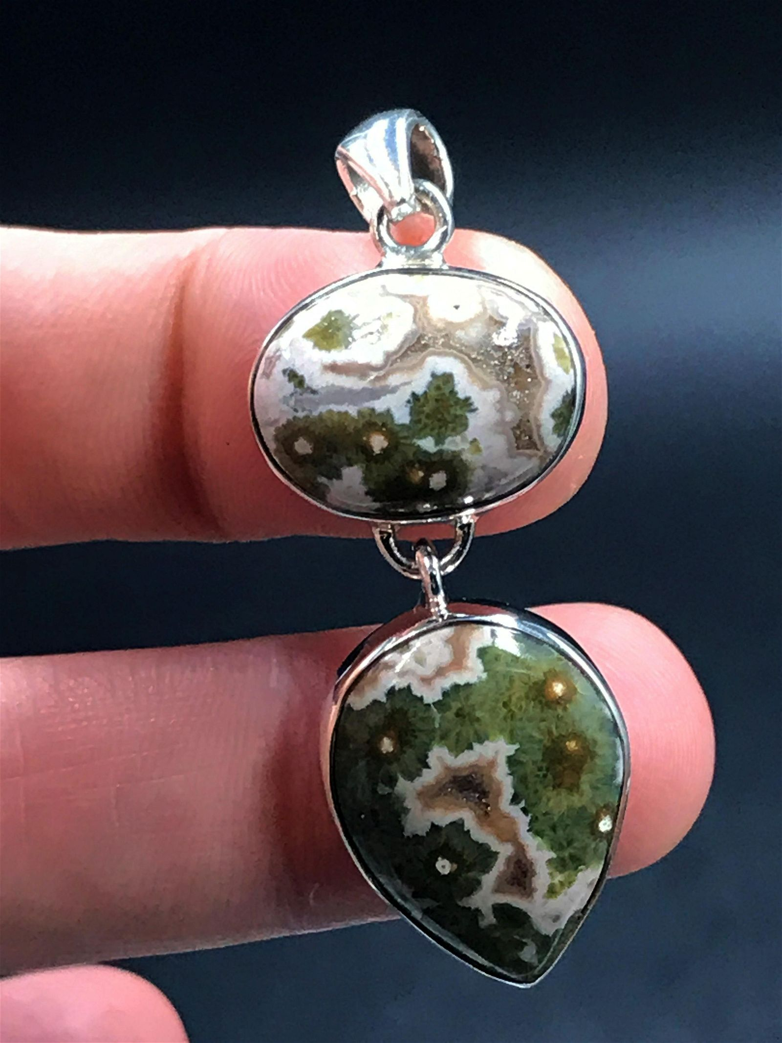 Rock, Crystal, Natural, Jewelry, Sterling