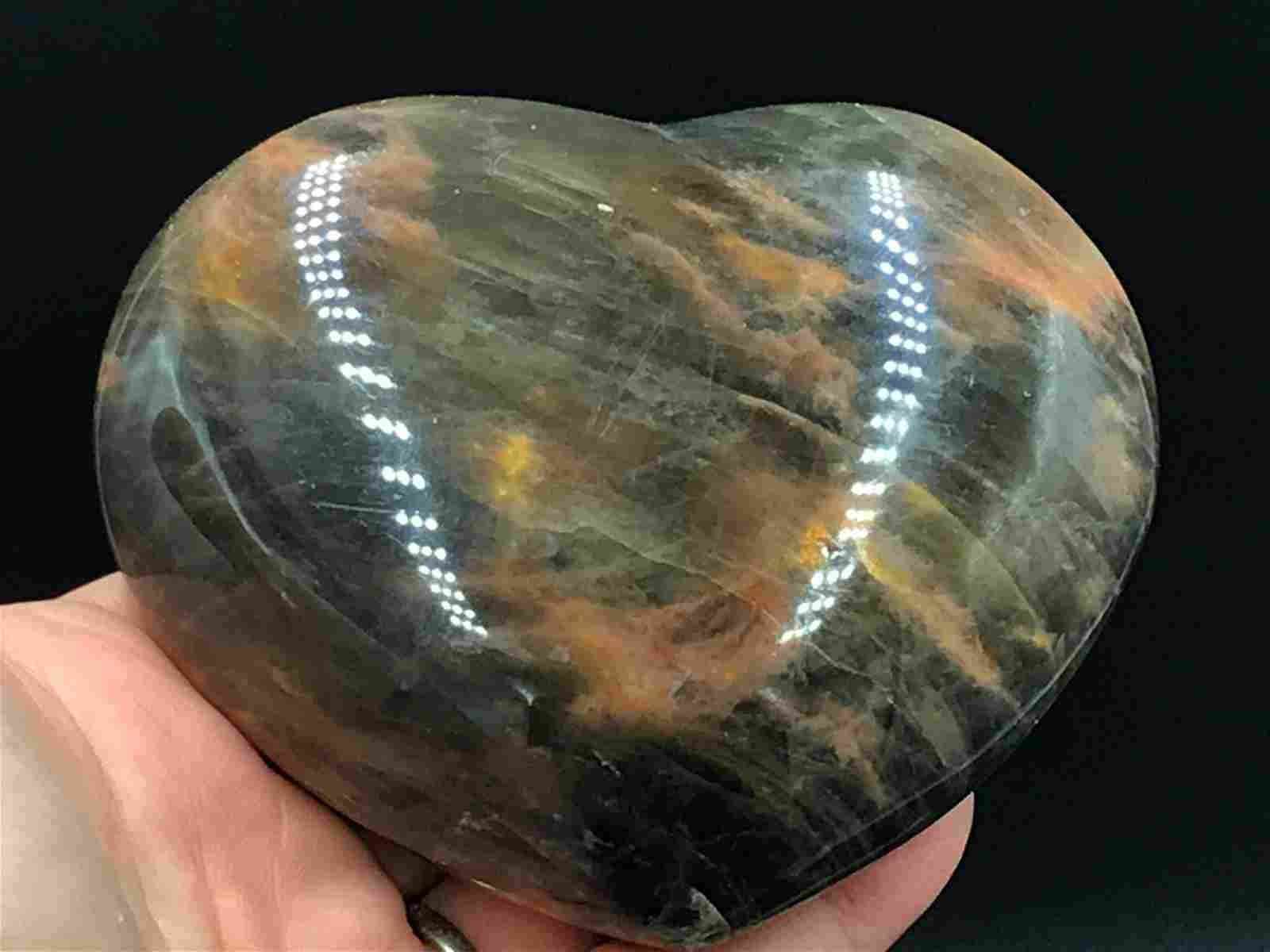 Rock, Crystal, Natural, Collectible, Carving, Heart