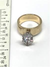 14Kt gold & 2.2ct Diamond Ring