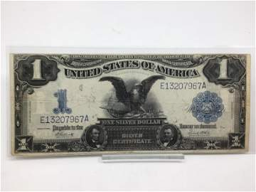 1899 $1 Silver Certificate Black Eagle