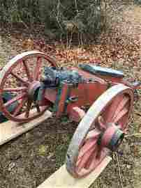 Revolutionary war replica howitzer cannon