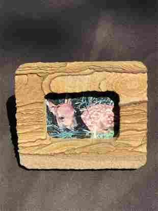Picture Sandstone Picture Frame 1lb 7oz