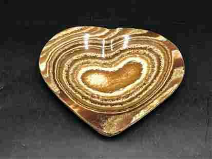 Rock, Crystal, Natural, Collectible, Carving, Heart,