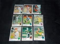 1973 CARD LOT BASEBALL