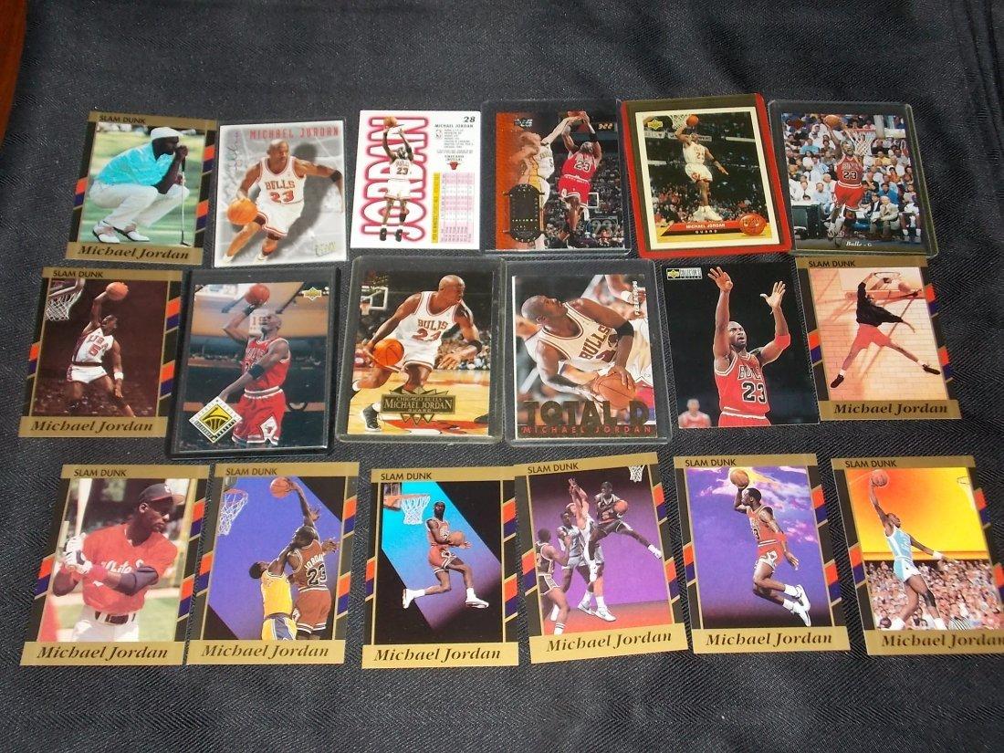 Michael Jordan Card Lot