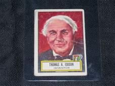 1952 Topps Look n' See