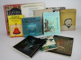 LOT OF ASIAN ART AND OTHER BOOKS