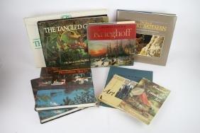 LOT OF NINE CANADIAN ART BOOKS