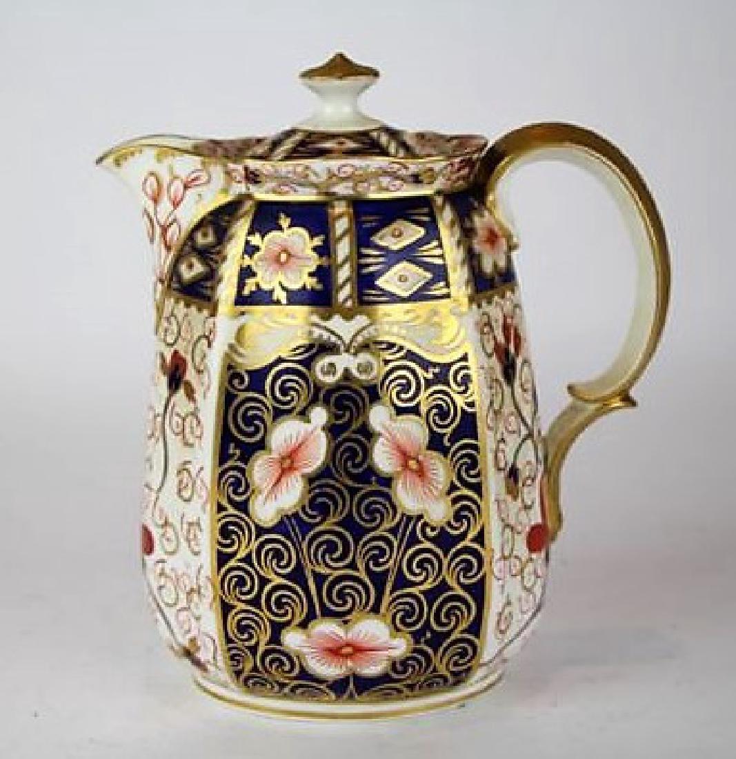ROYAL CROWN DERBY IMARI PATTERN TEA POT