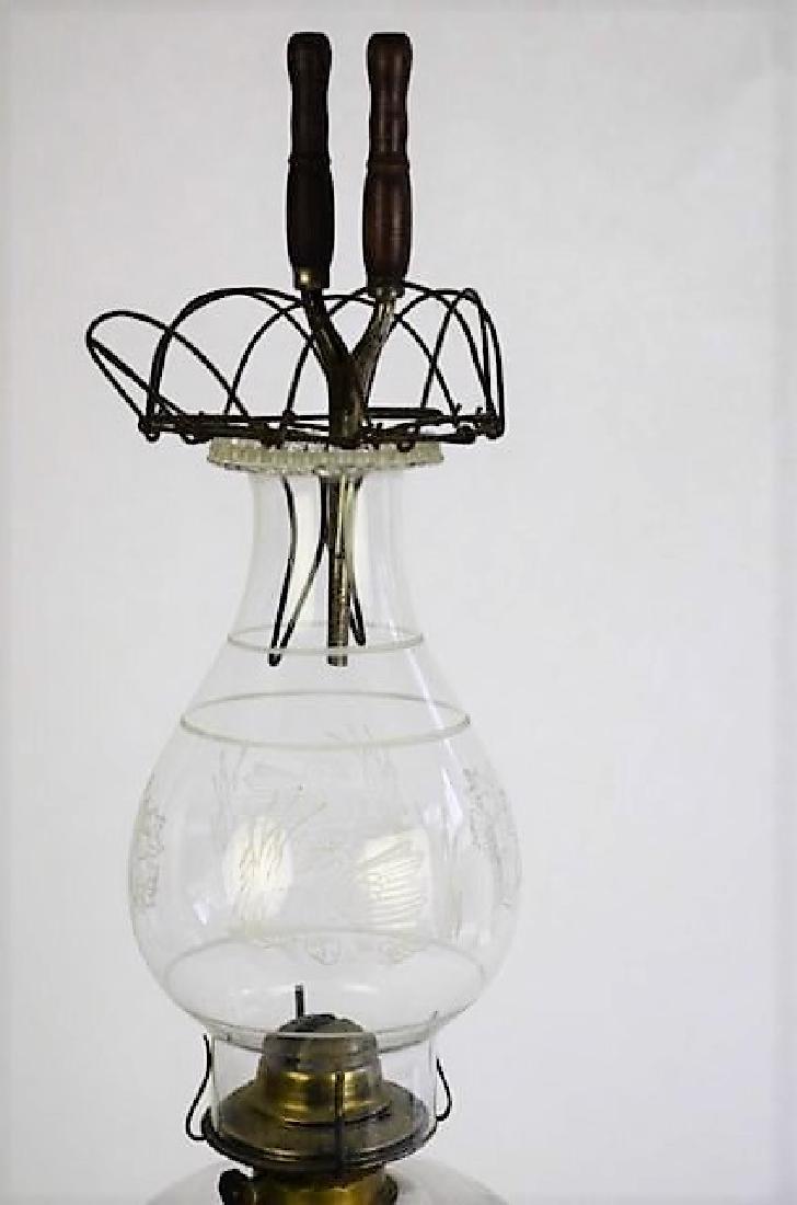 BULLSEYE PATTERN OIL LAMP - 3