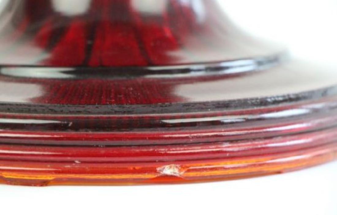 ALADDIN RED BEE HIVE OIL LAMP - 3