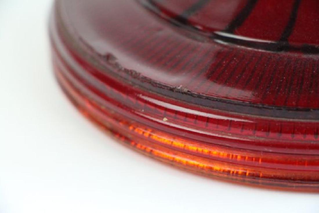 ALADDIN RED BEE HIVE OIL LAMP - 5