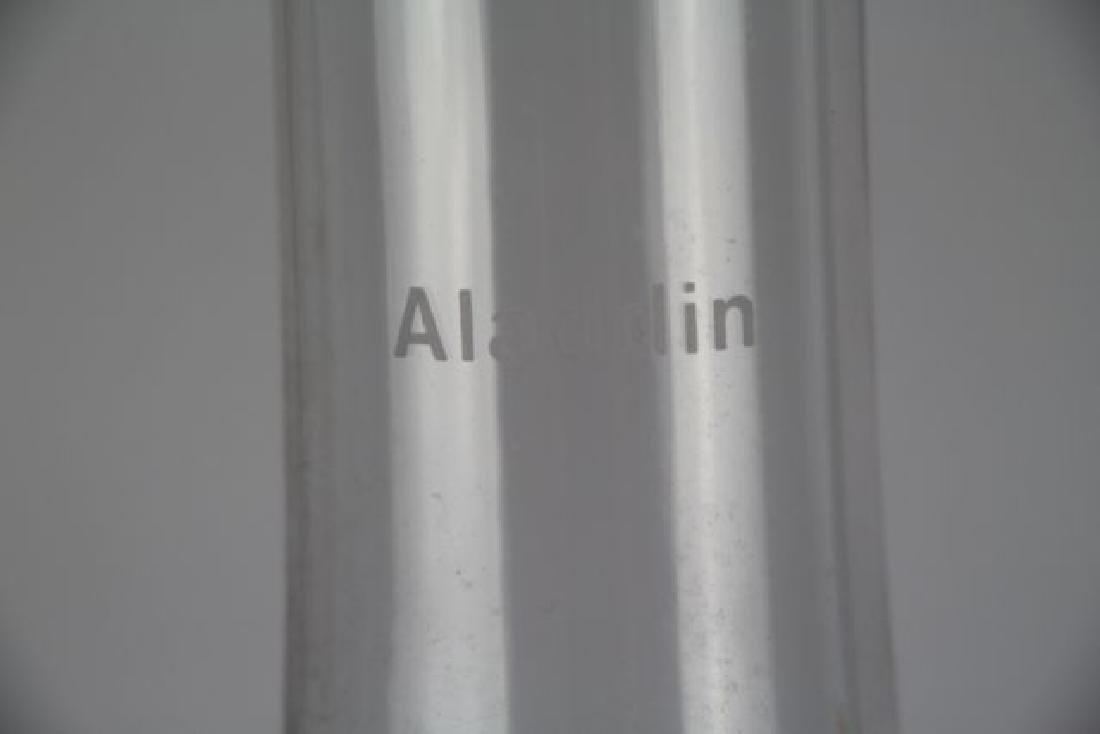 """ALADDIN GREEN """"MAJESTIC"""" OIL LAMP - 3"""