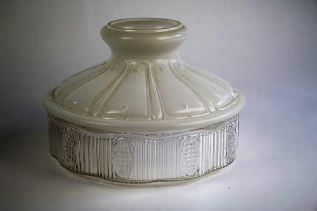 """ALADDIN GREEN """"MAJESTIC"""" OIL LAMP - 5"""