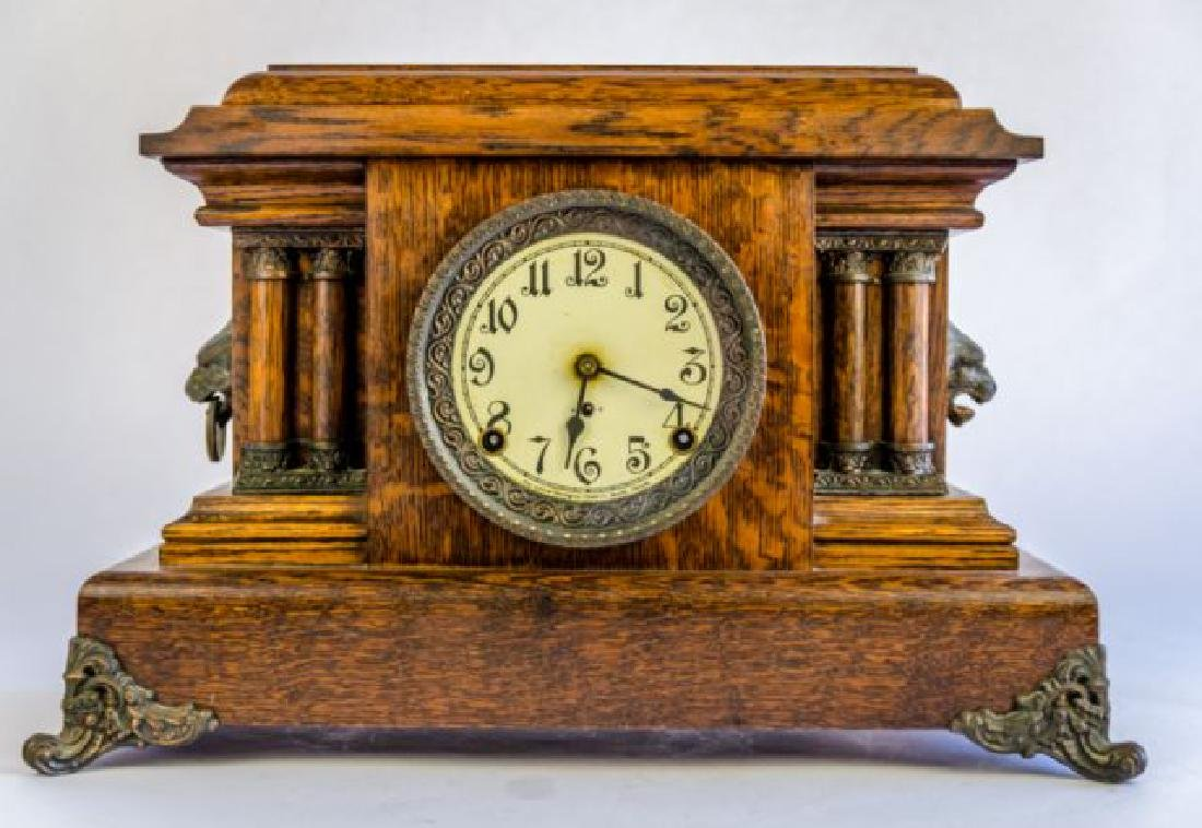 "PEQUEGNAT ""ONTARIO"" MANTLE CLOCK"