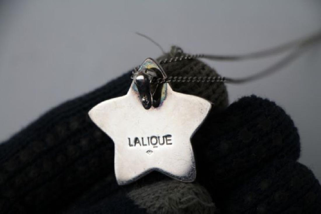 LALIQUE OCEANIA STAR FISH PENDANT - 3