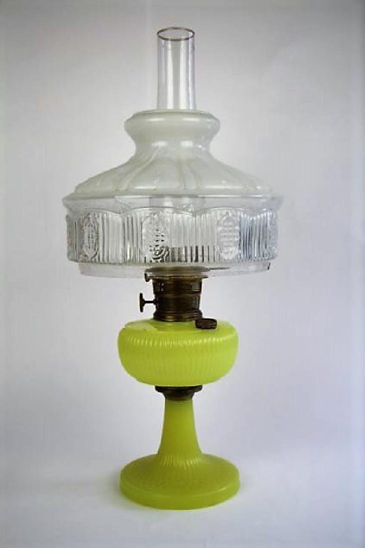 "ALADDIN ""MOONSTONE VERTIQUE"" OIL LAMP"