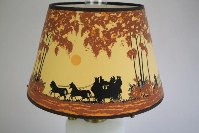 ALADDIN CORINTHIAN PATTERN OIL LAMP - 3