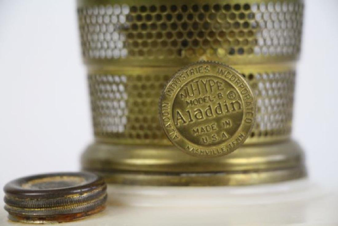 ALADDIN HANGING OIL LAMP FONT - 2