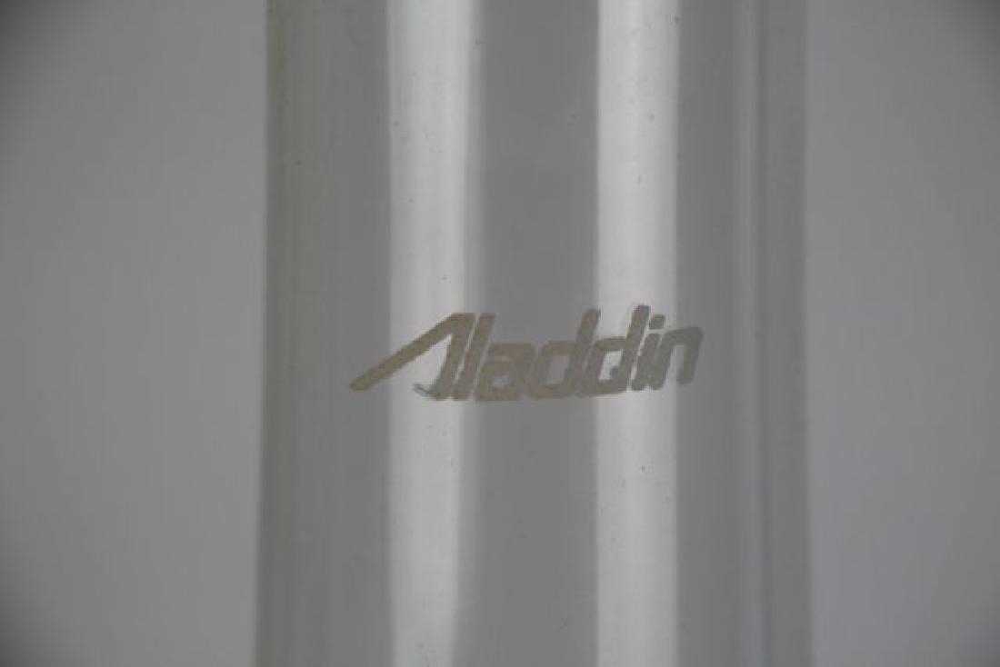 ALADDIN ROSE MOONSTONE CORINTHIAN OIL LAMP - 5
