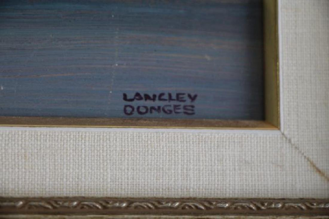 DONGES Langley Thomas (Can. 1901 - 1992) - 3