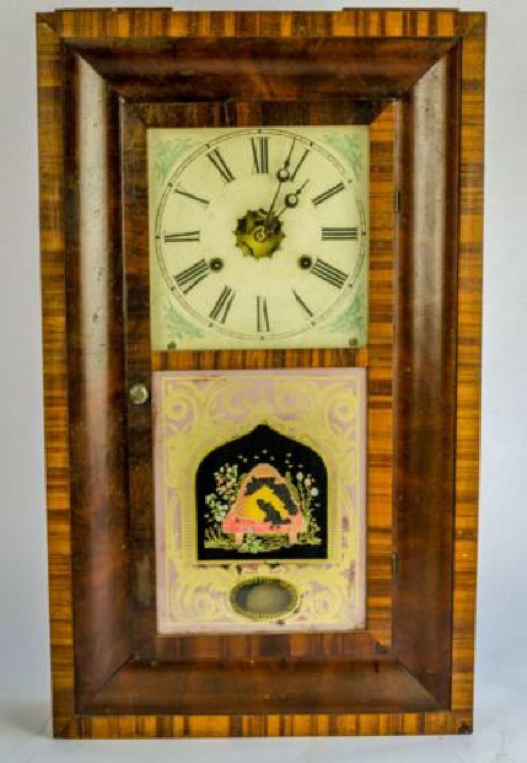 ANTIQUE NEW HAVEN O-GEE CLOCK