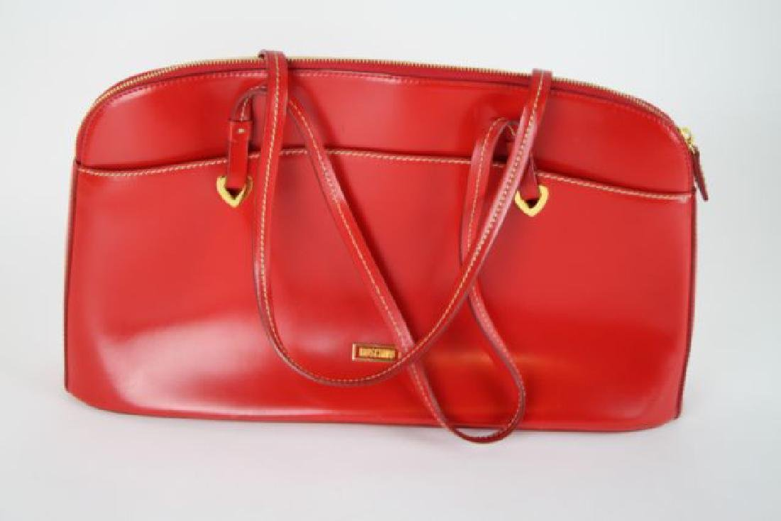 MOSCHINO ITALIAN LEATHER PURSE