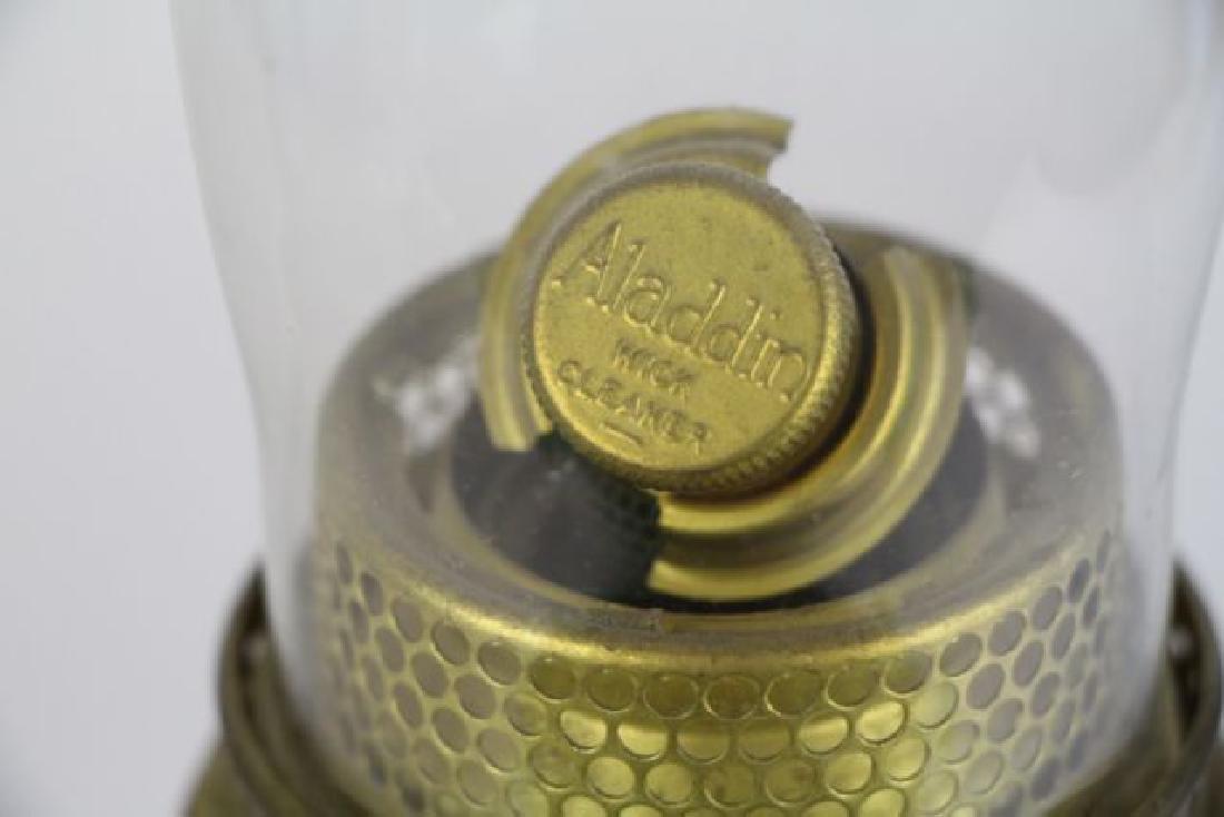 """ALADDIN """"SIMPLICITY"""" OIL LAMP - 3"""