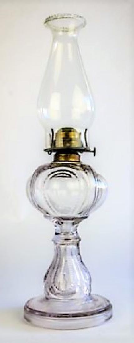 19TH CENTURY OIL LAMP