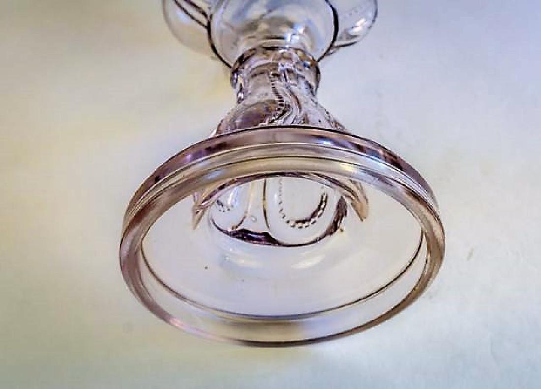 19TH CENTURY OIL LAMP - 4