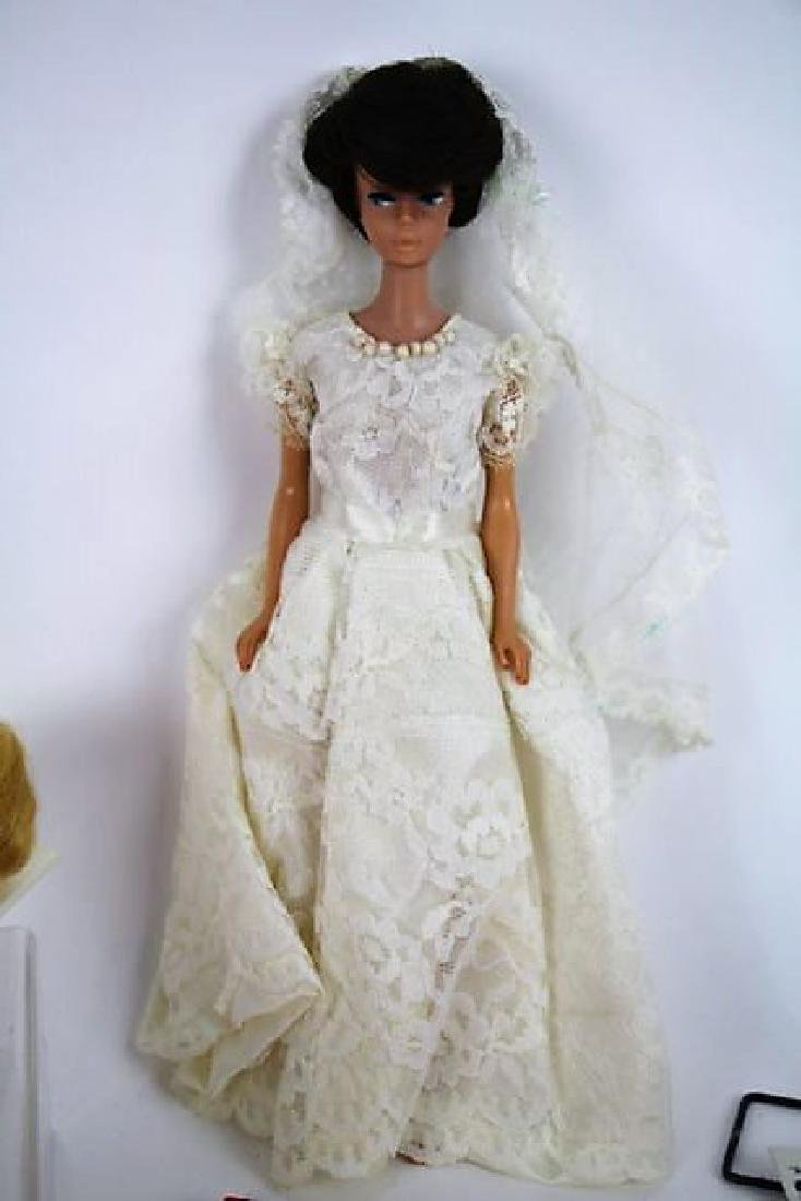 1958 BUBBLE CUT BARBIE WITH EXTRAS - 5
