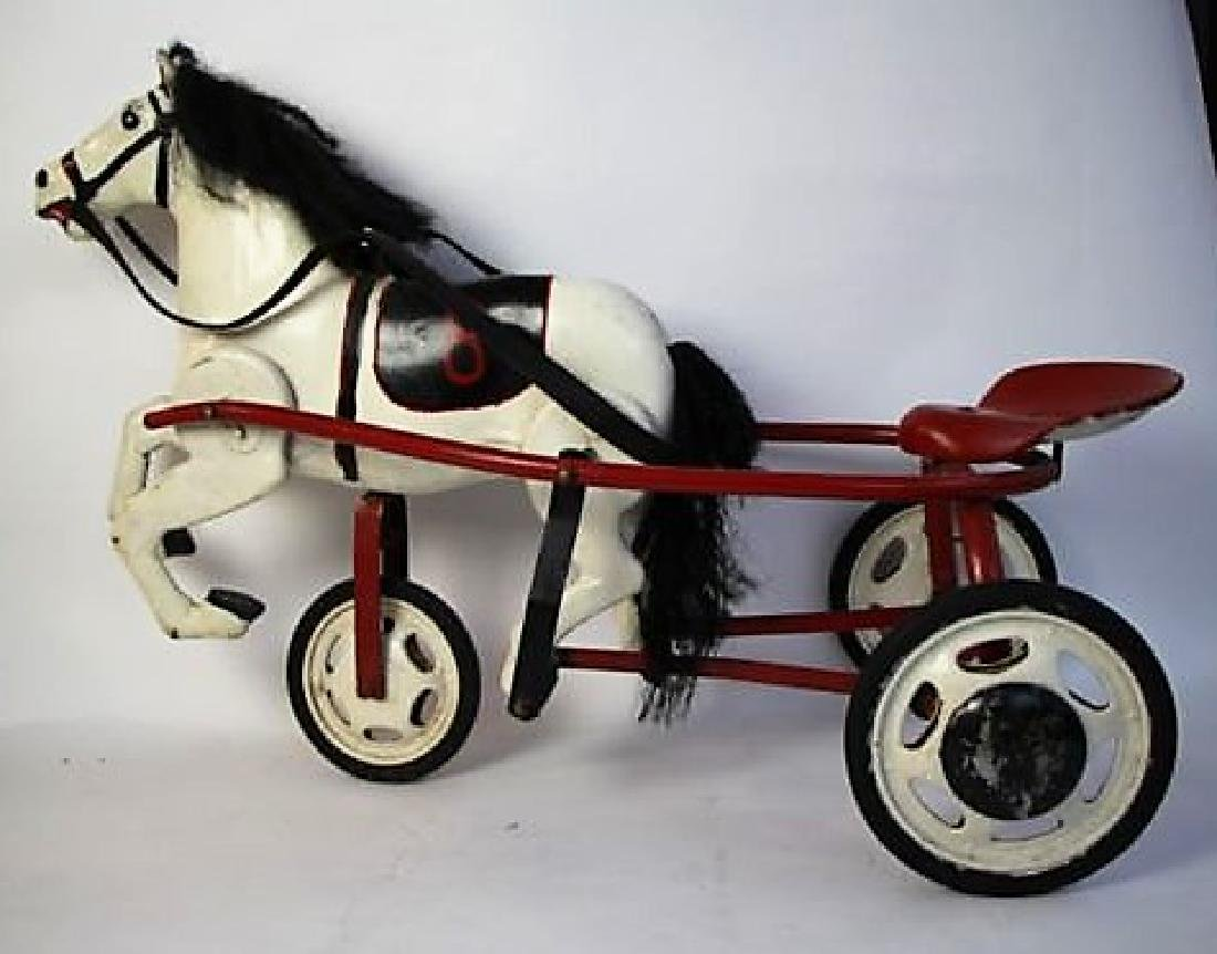 TRIANG METAL RIDING HORSE